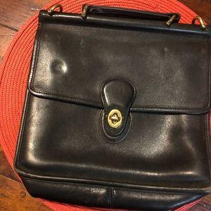 Coach Vintage Station 5130 Classic Leather Satchel